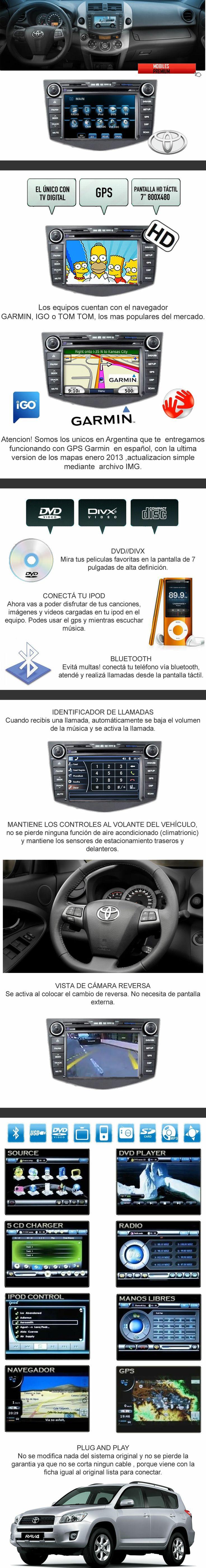 Comprar estereo multimedia toyota rav4 | venta de estereo multimedia toyota rav4 Argentina