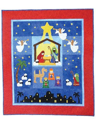 Beginner Quilt Patterns - The First Noel Quilt Pattern