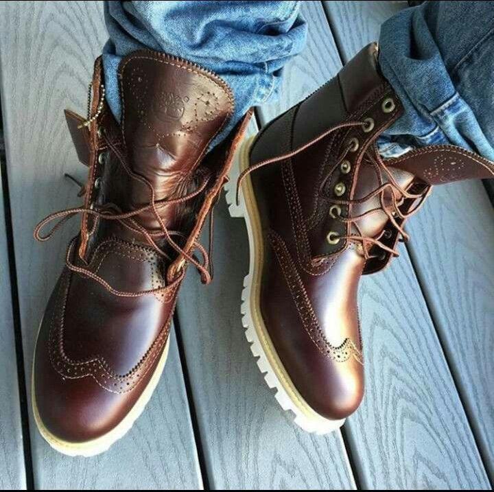 Limited Edition · メンズウイングチップブーツメンズ靴