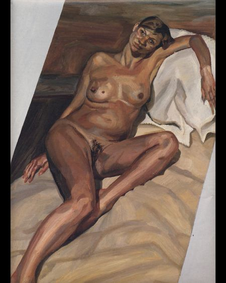 Kate Moss by Lucien Freud