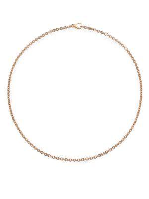 """POMELLATO Sabbia 18K Rose Gold Necklace Chain/16.5"""". #pomellato #chain/16.5"""""""