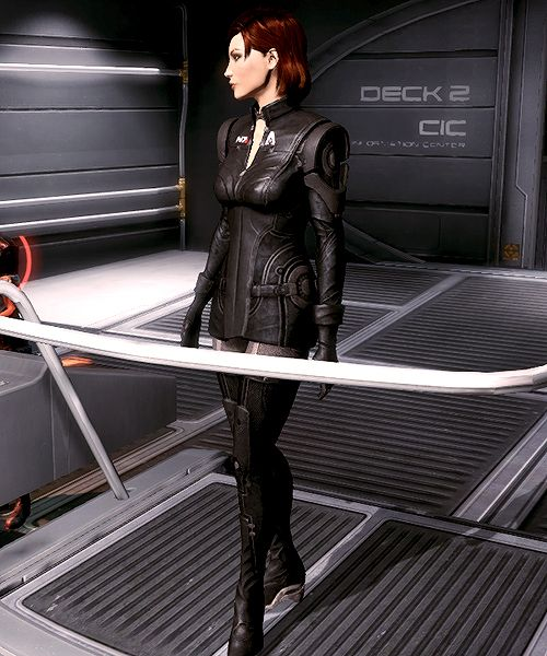 Commander Shepard #masseffect where can i get this outfit for my femshep?!
