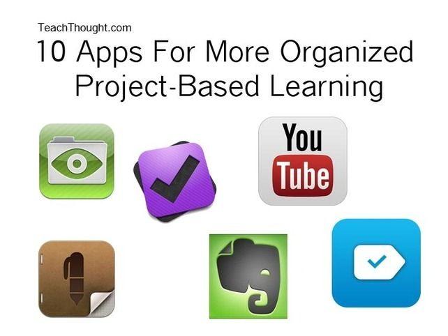10 Aplicaciones para organizar el Aprendizaje por Proyectos