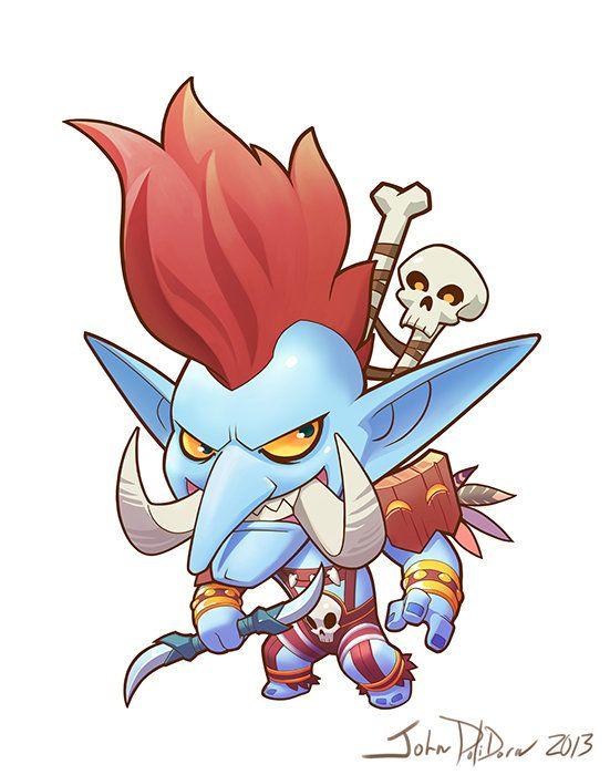 ArtStation - Blizzard Cute But Deadly Character Designs, John Polidora