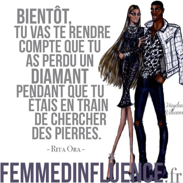 Inspirational Quote: Femme dInfluence Se connecter
