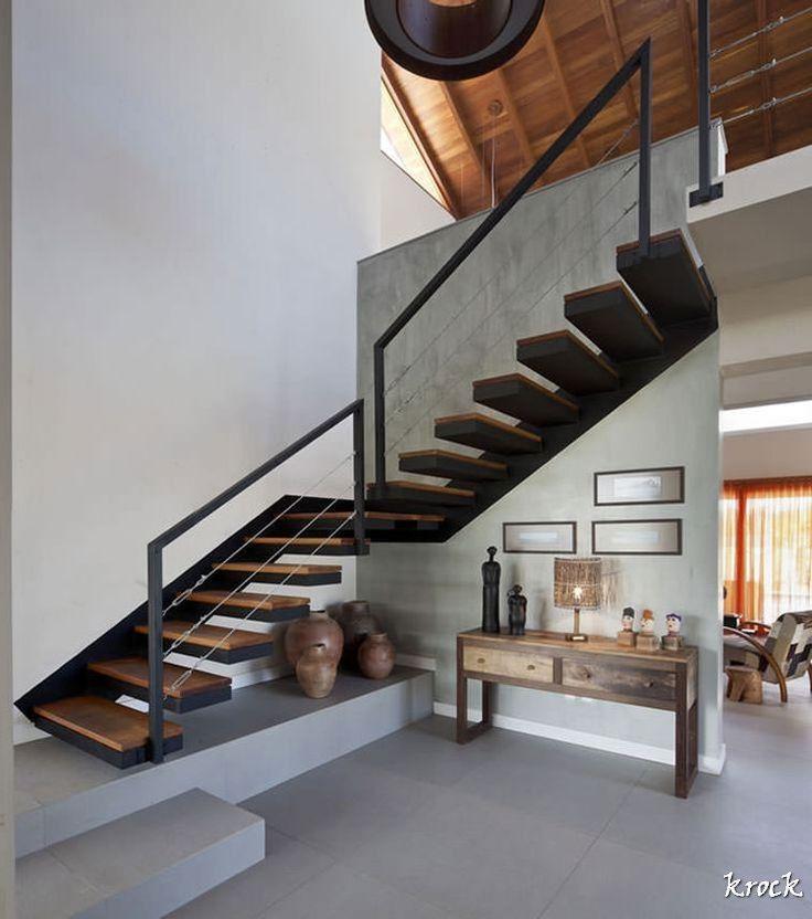 les 36 meilleures images du tableau escalier a cremaillere sur pinterest escaliers escaliers. Black Bedroom Furniture Sets. Home Design Ideas