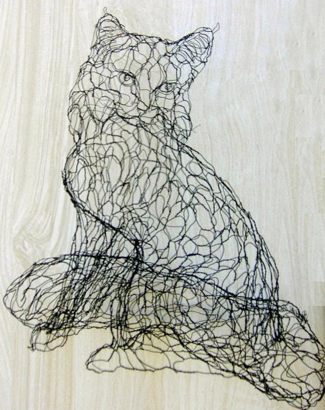 1000 images about chicken wire art on pinterest wire for Chicken wire art