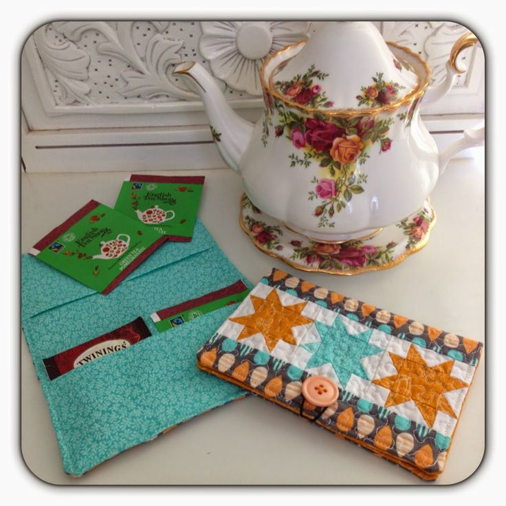 Threadbare: Free Pattern- Tea Bag Wallet