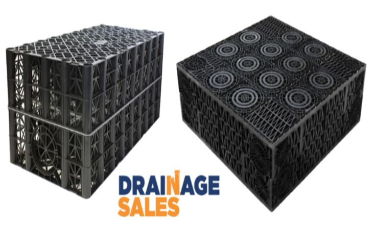 Drainage Crates for soakaway