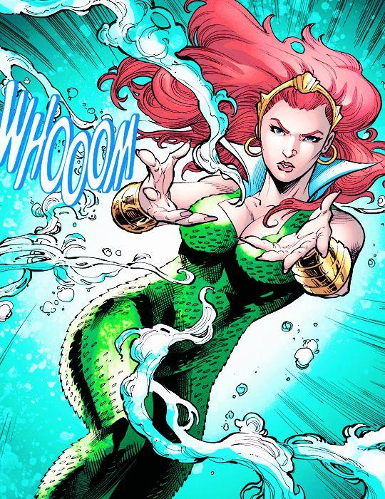 Mera in Aquaman #48 (2016) - Vicente Cifuentes, John Dell, Juan Castro & Guy Major