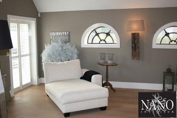 Inspirerend mooie kleur muur fijne sfeer door aliekev home pinterest taupe and doors - Muur taupe kleur ...
