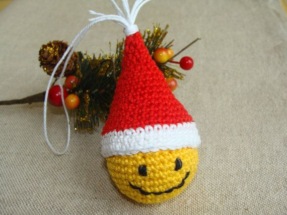 Christmas Decorations Smiley Face , Christmas Ornaments, Christmas Tree Decor, Christmas Gifts, Xmas Ornaments