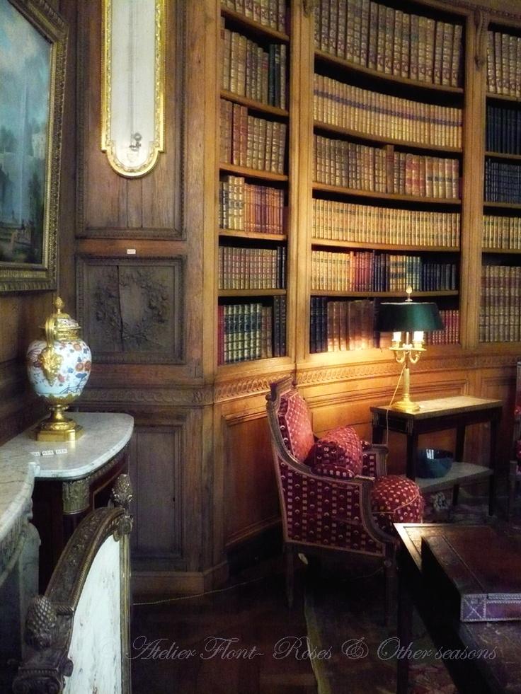 Library - Hotel particulier Nissim Camondo - photo © Atelier Flont