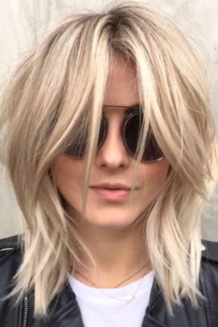 Julianne Hough's modern day shag bob hairstyle
