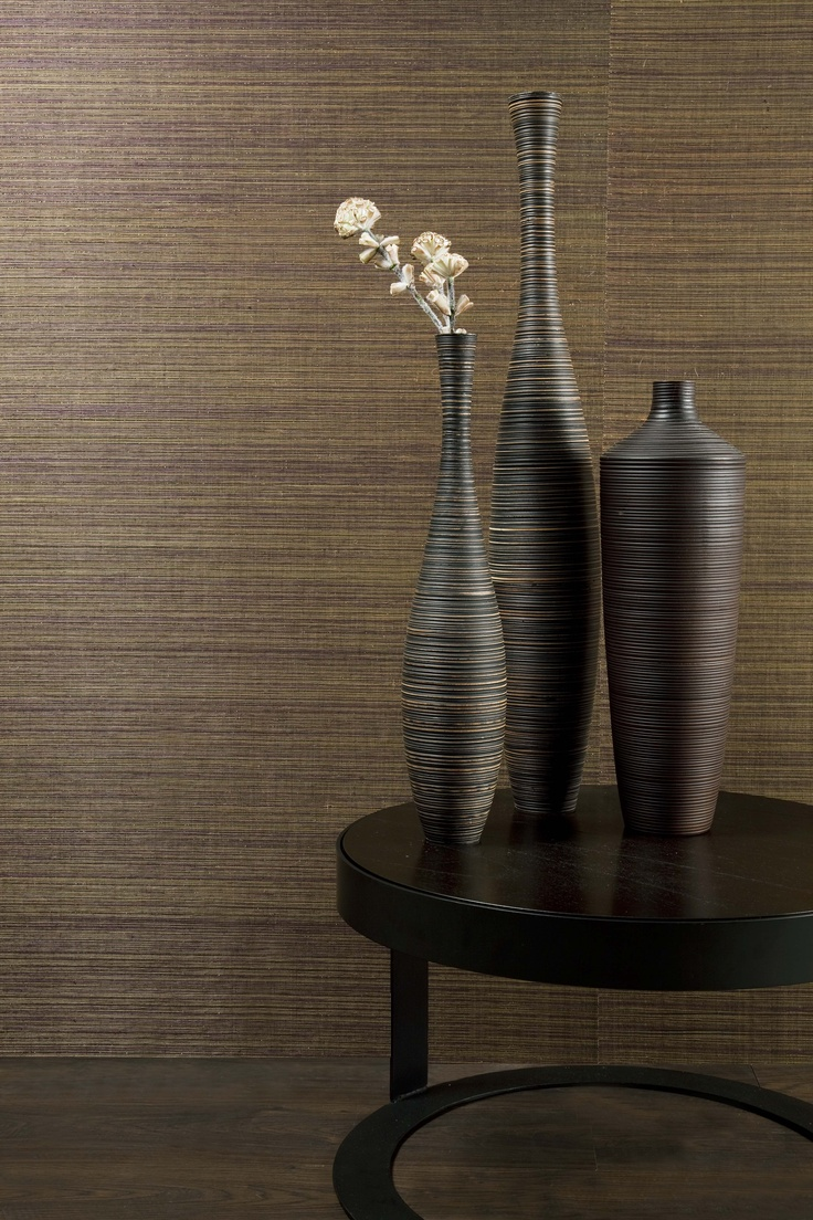 """A causal #chic! Get that """"resort feel"""" with #interior furnishings from #Goodrich    #Wallcovering from Orion Collection, Omexco"""