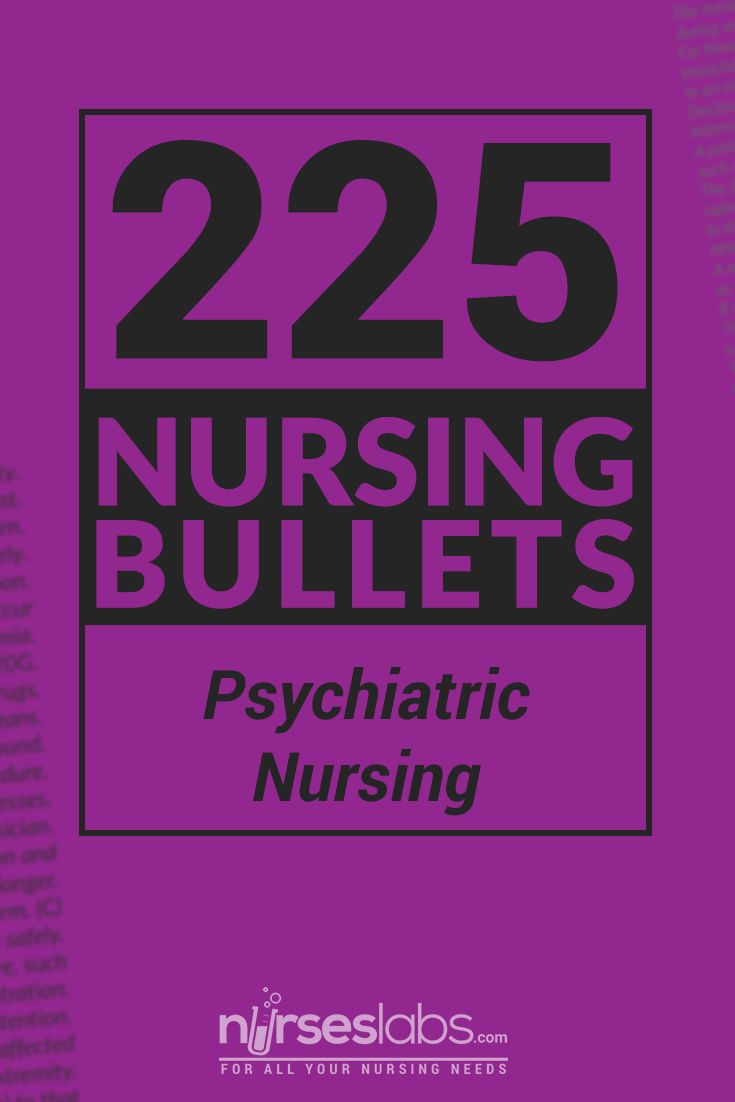 Looking for a quick but accurate review for a psych final? These bullets would be a great place to start. There are even appropriate medications to cover Pharm content. DLW