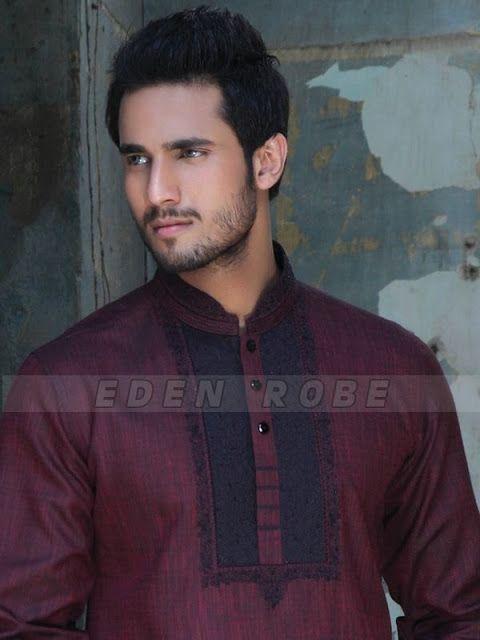 Eden Robe Eid Collection 2013 For Men | Traditional Menswear Kurta Collection | Cotton Kurta's For Eid