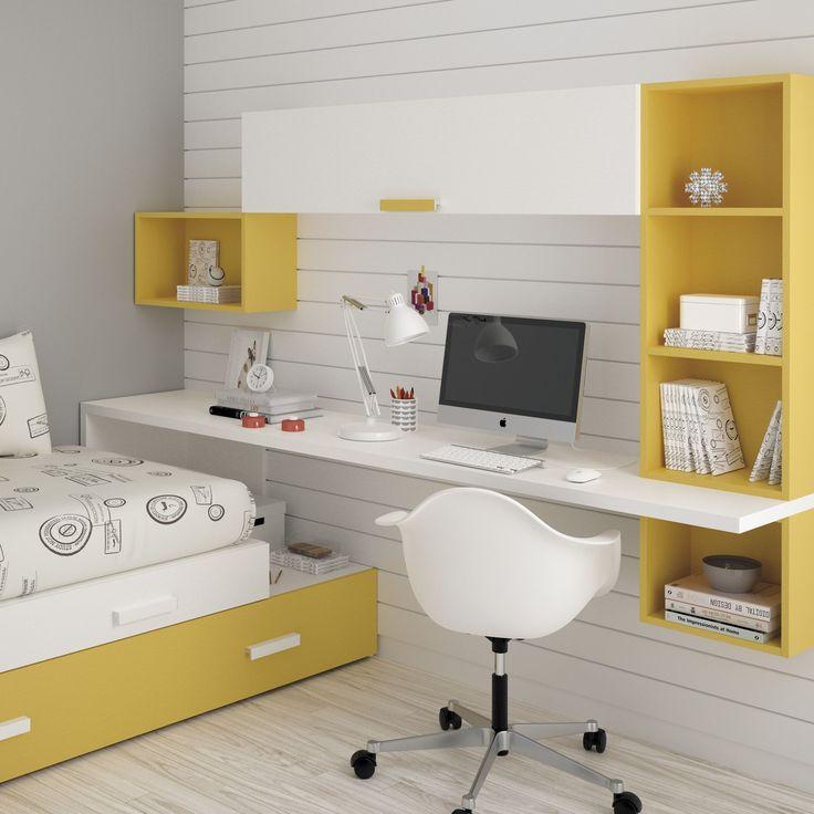 Escritorios de rincón, rectos, con formas irregulares, ¿quieres saber qué tipo de mesa es la más adecuada para tu dormitorio? En este post te lo contamos.