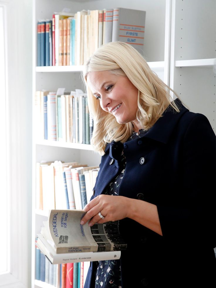 Crown Princess Mette Marit of Norway: The literary train tour 2017 – Day 2 June 8, 2017