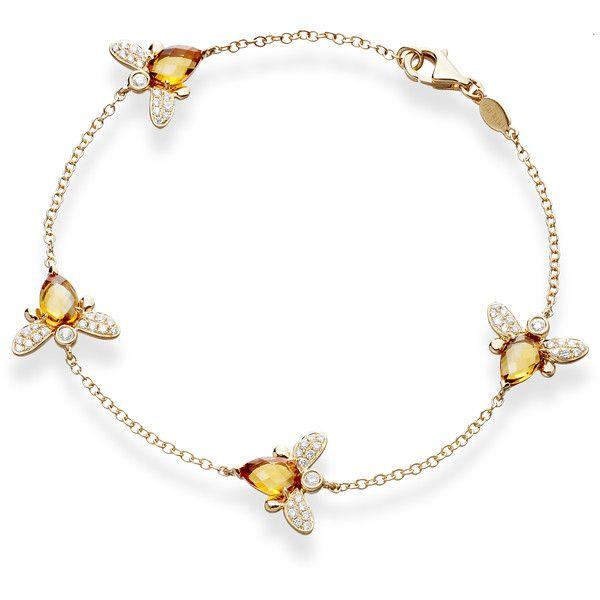 Kiki Eve Bracelet...darling little bumble bees~