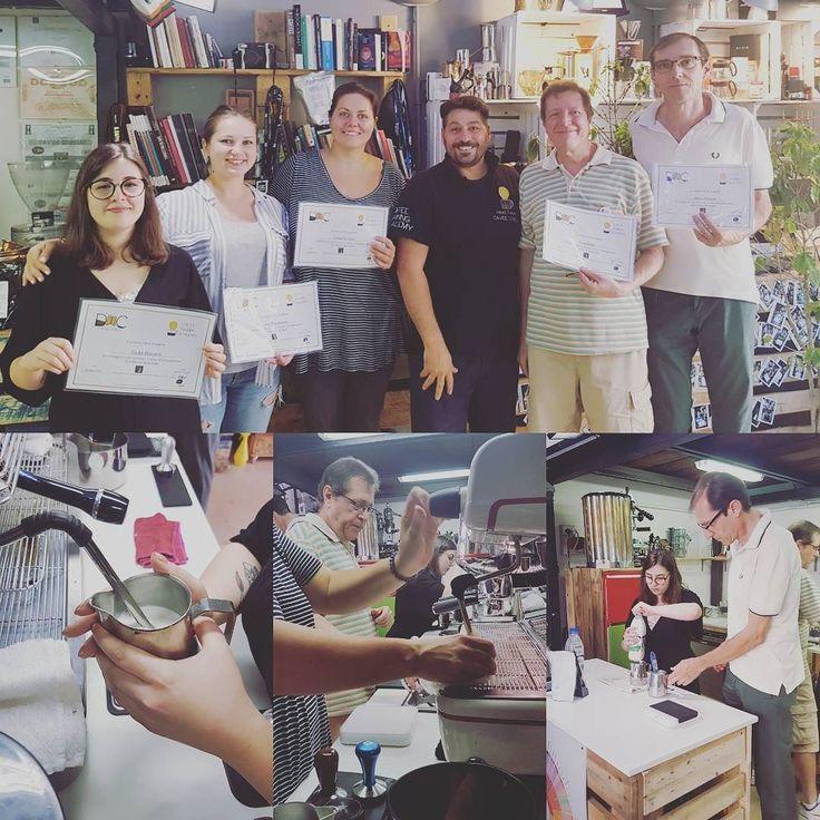 Oggi i nostri ragazzi impegnati con Barista Skills Base by #specialtycoffeeassociation  #Sapere #Conoscere #Applicare #Barista  #CoffeePassion #Verona #CoffeeTrainingAcademy