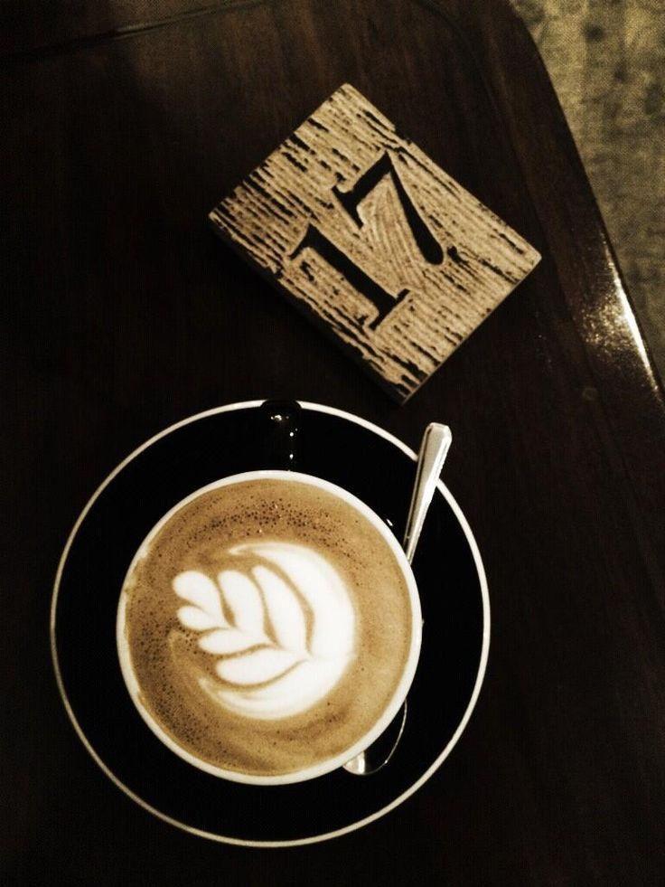 5 oz double latte @ Penny University, Singapore