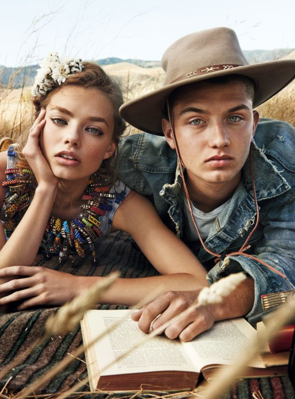 Teen Vogue December 2014 | Kristine Froseth & Rafferty Law by Giampaolo Sgura [Editorial]