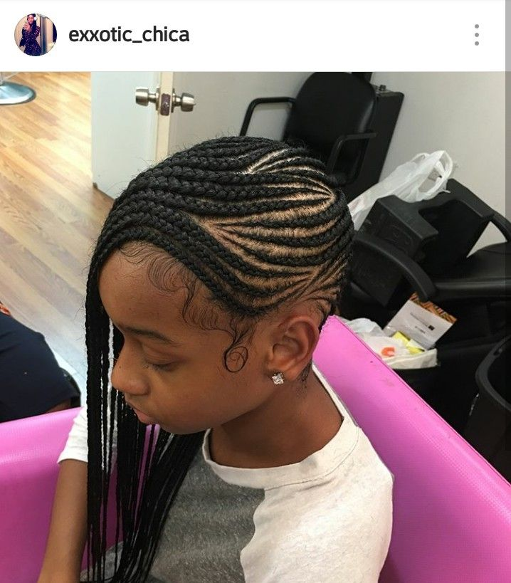 Pinterest Jalissalyons Cornrows For Girls Afro Hair Care Kids Hairstyles