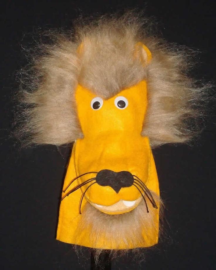 Lion Moving Mouth Hand Puppet #handpuppet #lion