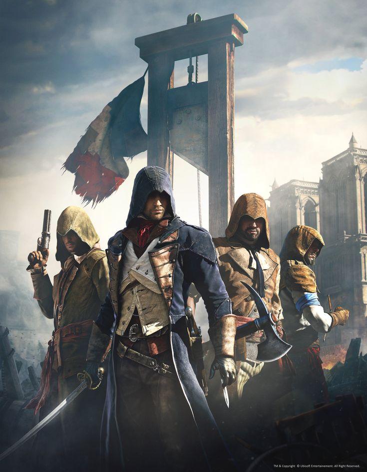 ArtStation - Assassin's Creed Unity - Artwork01, Hugo Deschamps