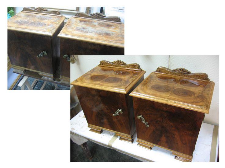Mesillas de noche art dec mesas y mesillas for Clases de restauracion de muebles