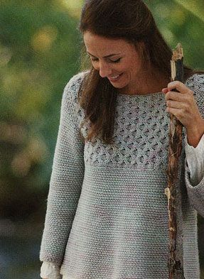 Frosted Window Pane Cable Crochet Sweater Pattern. More Patterns Like This!