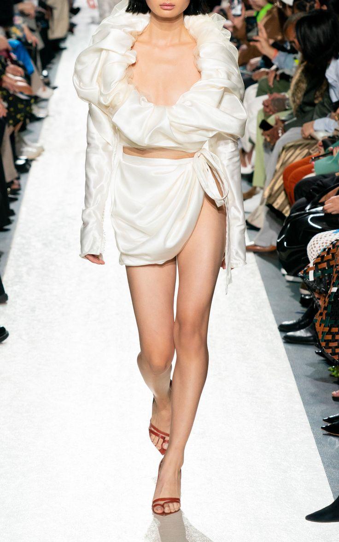 Silk Sarong Mini Skirt