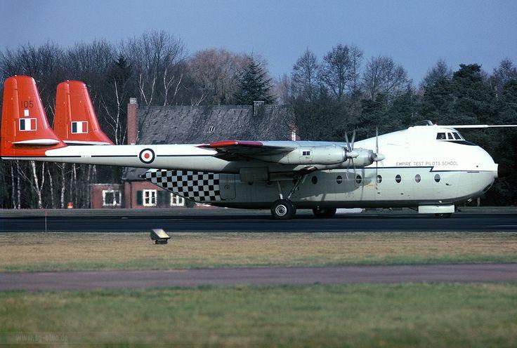 Empire Test Pilots School AW650 Argosy C1 XR105 1975