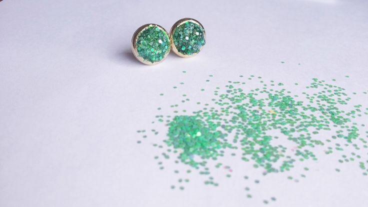 DIY Druzy Earrings