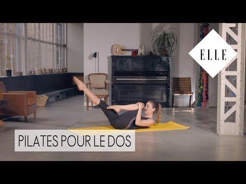 Pilates Master Class - Pilates pour renforcer son dos - YouTube
