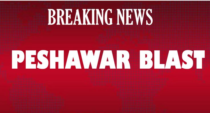 Peshawar Blast Near Iranian Consulate Died 2 FC Persons