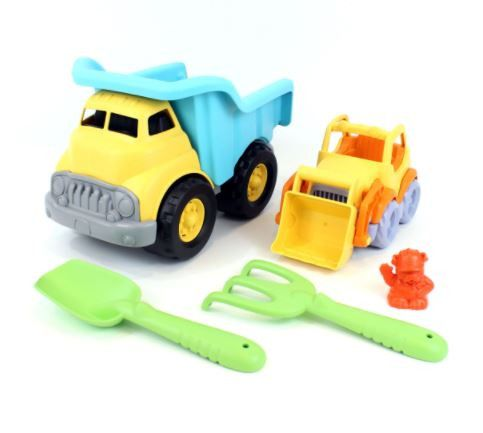 Green Toys: Sand & Water Play - Dump Truck with Scooper