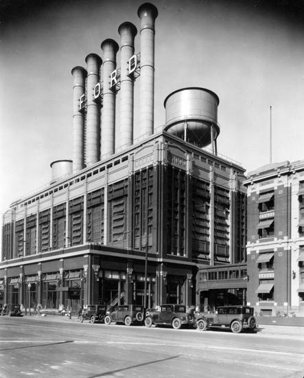 Ford motor co plant 1930 fort pontchartrain du d troit for Ford motor company detroit mi