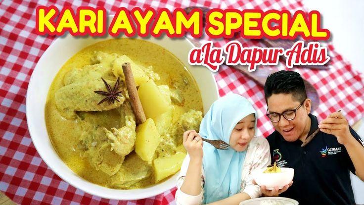 Reep dan Cara Buat Ayam Kari Special ala Dapur Adis  #food #curry #kari #chicken #recipe #cooking #video #howtocook