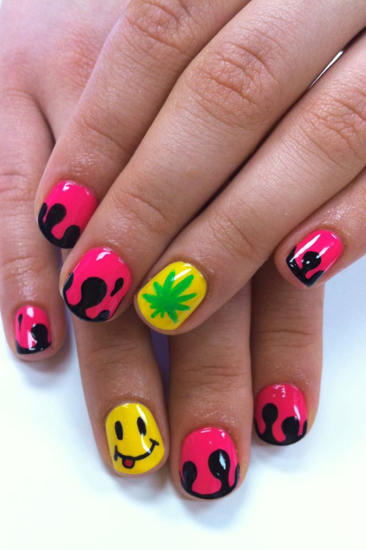 192 best images about smiley nails & nail art design gallery by ...