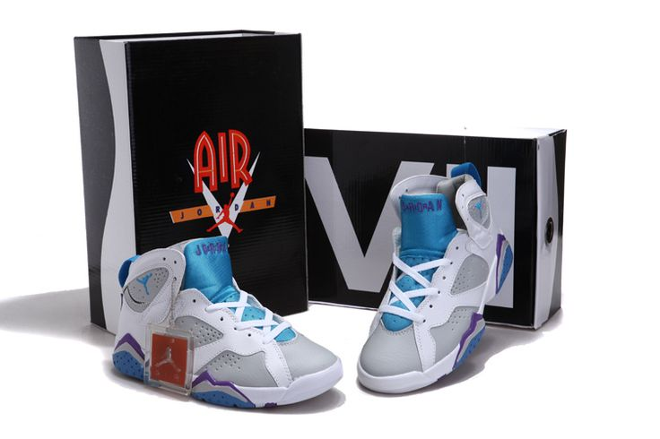 67a9c62567f ... Jordan 7 Mineral Blue Violet White [Jordans Shoes 0030] - $55.26 :  Collecting Cheap Air Jordan 7 Retro ' ...