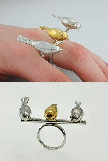 TheCarrotbox.com modern jewellery blog : obsessed with rings // feed your fingers!: Miranda Chambers / Mei Rojo