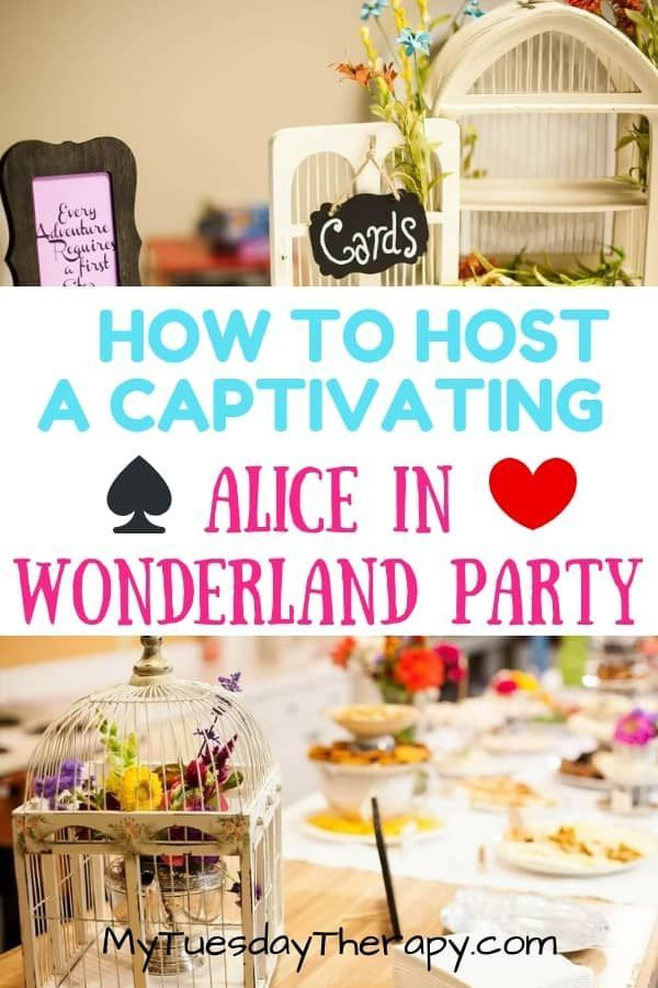 30 Enchanting Alice In Wonderland Party Ideas Kids Tea Party