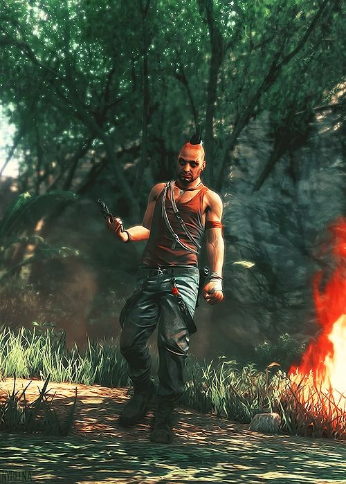 Far Cry 3 ...Wait wait wait... So Vaas and Jason. Are the same people?... Yes?... No? Glab, I really need to play the games I pin XD Hahaha -Will