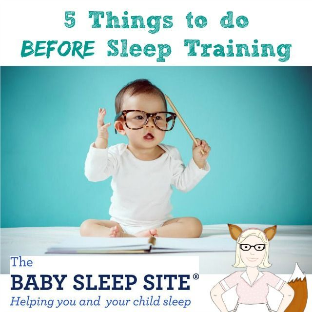 5 Things to do BEFORE Sleep Training, guest post on /mamathefox/