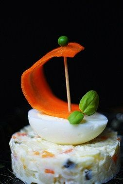 Thumbelina's Vegetable Barges - Cooklet