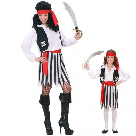 disfraz mujer pirata disponible en versin infantl disfraces baratos para
