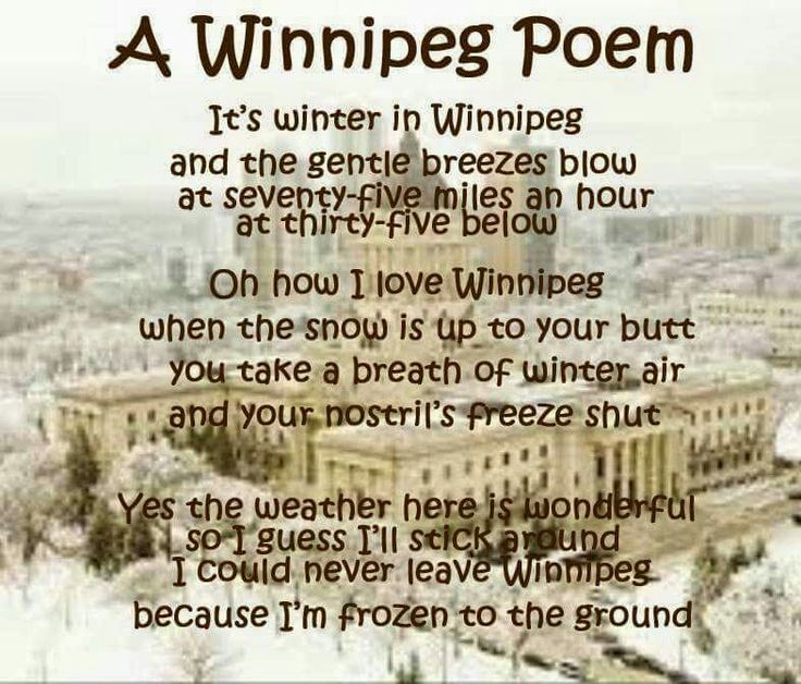 This works for anywhere on the prairies!