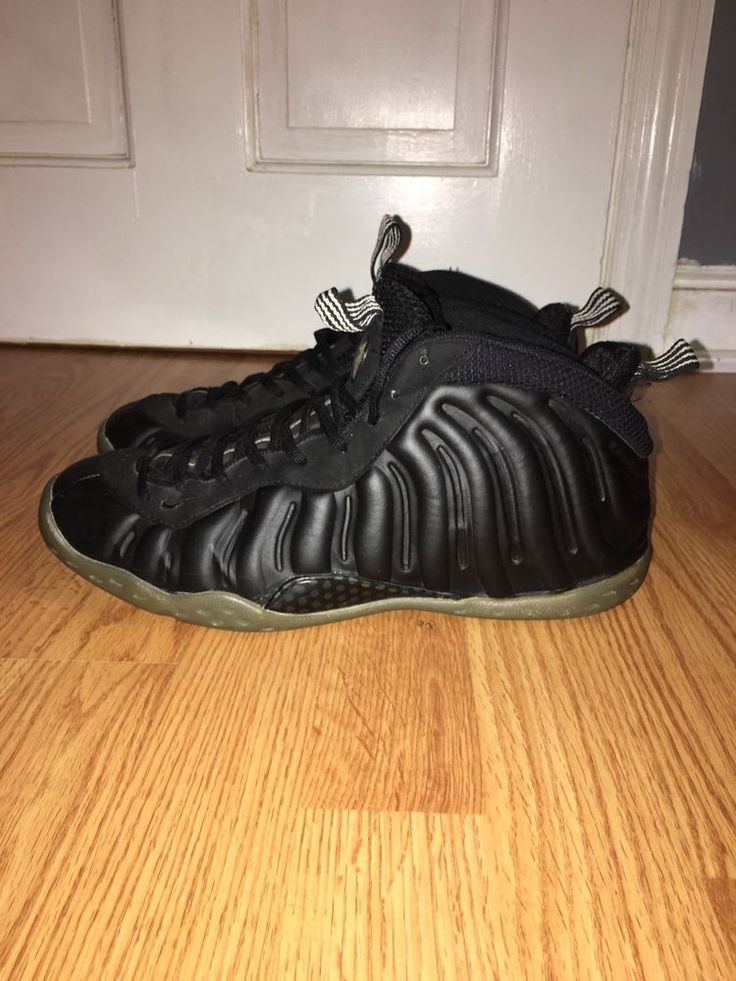 "2012 Nike Air Foamposite One ""Stealth"" Black / Medium Grey Size 11 Shoes  | eBay"